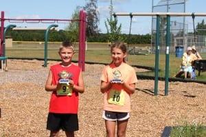 22-spt-(H) kids run winners tyler sundquist of tomahawk and MADELEINE RECKMEYER  of anchorage ak